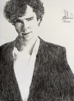 Sherlock Sketch by floluxes