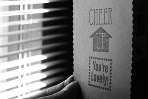 Cheer up, you're lovely. by BritLawrence