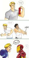 Ask Steve and Tony: Annoying by artsytarts