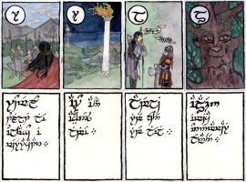 Tengwar Karuta - Additionals I by Qitian