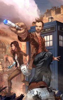Custom Doctor Who commission by cehnot