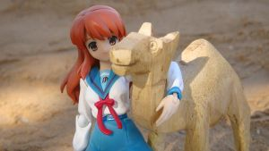 Mikuru and the Camel by marvyanaka