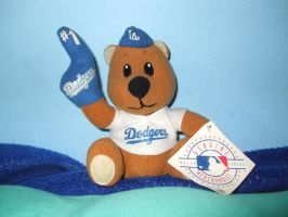 Los Angeles Dodgers' Bear by Gamekirby