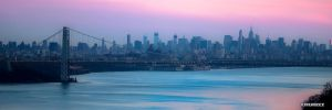 Dusk Over NYC by robmurdock