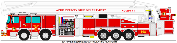 Acre County Fire Dept. Platform 168 by MisterPSYCHOPATH3001