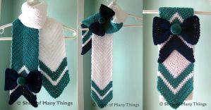 Sailor Neptune Scarf by CrafterOfManyThings