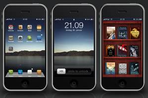 iPad theme for iPhone, Suave by 93matt93