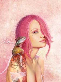 Pink me by clair0bscur