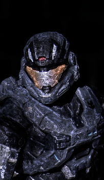 HALO Reach-Noble Six Energy Shield by KingMonster656