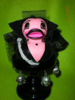 Legend Dark Lily Rubber Duck by Oriana-X-Myst