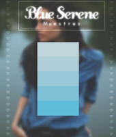 Blue Serene {Muestras} by DreamingTutorials
