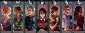 Pontis Portraits by painted-bees
