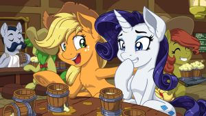 Rarijack Round of Ciders by LateCustomer