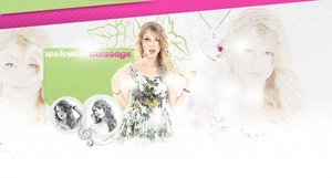Taylor Swift header by itsanne