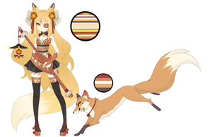 Fox Adopt Auction {CLOSED} by Oma-Chi
