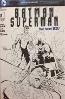 Batman and Invincible VS Superman by RyanOttley