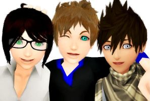 Brothers [mmd] Another Announment by sophloulou