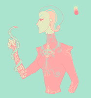 Color scheme challenge #2: Narcissa Malfoy by RapassWave