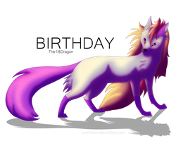 HAPPY BIRTHDAY The18Dragon by Svennemi