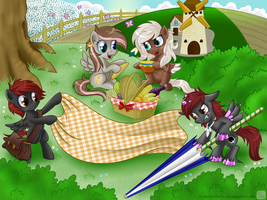 Picnic by SwanLullaby