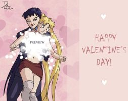 Surprise for Valentine's day by Seeraholic