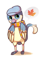 Autumn Maple by chubird