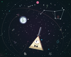 Gravity Falls: From outer space by Nekr0ns