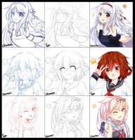 Switcharound || Kantai Collection by Yuzas