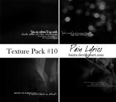Pack 10 by Baira
