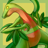 Grovyle icon by J3rry1ce