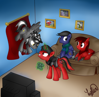 Game Night by Lydia-Rawr
