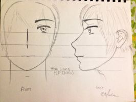 My Zao Liang (2P!China) Sketch-Out by Myindiansummer