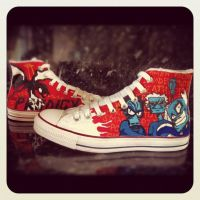 Prodigy Converse by VeryBadThing