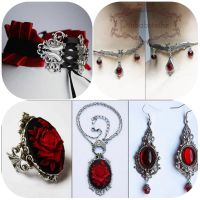 Ruby collection SALE by Pinkabsinthe
