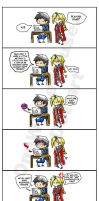 FMA: Playing Sims Comic by OneWingedMuse