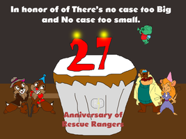 In honor of 27th anniversary of Rescue Rangers by TomArmstrong20