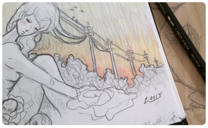 Powerline Sunrise Concept by lavonia