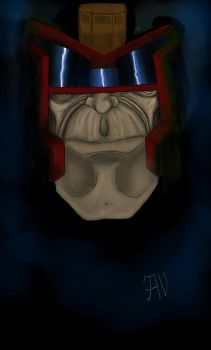 An old Judge Dredd by Magus85