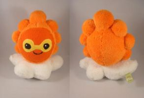Pokemon Fire Castform plush by pandari