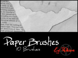 Paper Brushes by NemesisDivina666