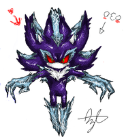 iScribble - Mephiles Again by BlueNeedle-Inu