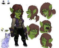 Kal - Goblin disguise by Kalooeh