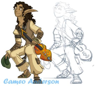 Tom Character Concept by Cameo-Chan