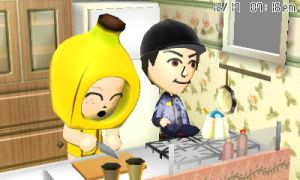 Banana Petunia and Eddie cooking by GWizard777