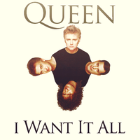 I Want It All - Queen by AgynesGraphics