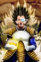 Vegeta from Dragonball Z by PigParadise