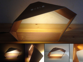 ''Ovalo'' : Origami + Wood + Light by JouzuMania