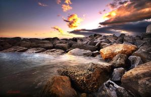 between the rocks by hotonpictures