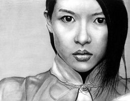 Zhang ZiYi by sketchtricks