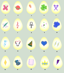 Pony adoptable Eggs 1 Point each by NightFever100
